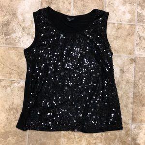Black fashion tank